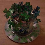 St. Patrick's Day Centerpiece by Aluminous Publishing