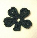 crochet-shamrock