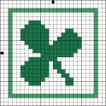 Cross-Stitch-Clover