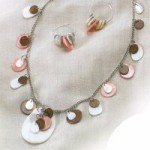 Shellz Necklace and Earrings