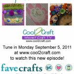 Cool2Craft TV - September 5, 2011 - Redecorate