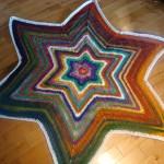 Bernat Mosaic Yarn Christmas Tree Skirt