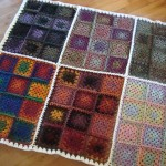 Bernat Mosaic Afghan Kit by The Crochet Crowd for Creativ Festival