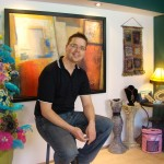 Mikey akA MichaeL Sellick at The Crochet Crowd Studio