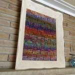 Mikey's Bernat Mosaic Yarn Painting