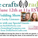 FaveCrafts Radio Show June Edition