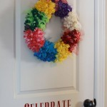 Bright Balloon Wreath
