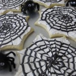 Spiderweb Cookies Edible Craft