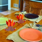 Turkey Table Accent for Kids