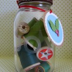 Recycled Jar Craft with Gift Tags