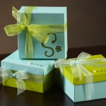 Painted Gift Boxes Decoration