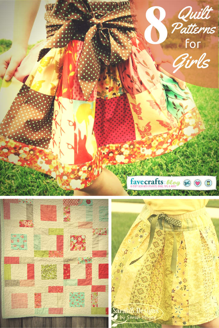 See more free quilt patterns for girls