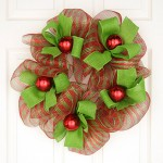 Mesh Christmas Wreath