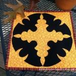 Wreath of Bats Pattern