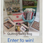 Quilting Swag Bag