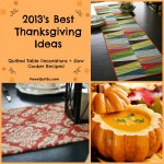 Thanksgiving Ideas and Recipes