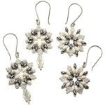 Winter Wonderland Snowflake Earrings