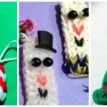 Holiday Rainbow Loom Patterns