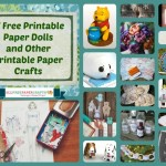 17 Free Printable Paper Dolls and Other Printable Paper Crafts