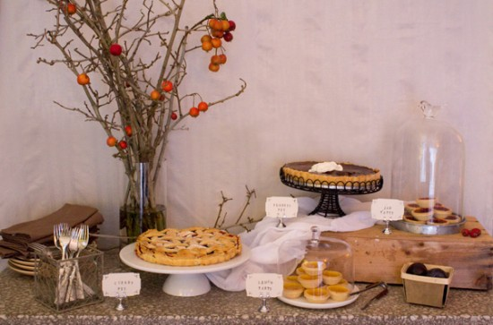Down Home Dessert Table