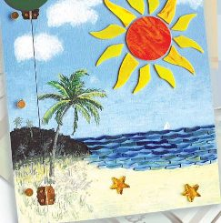 Tropical Memories Scrapbook Cover
