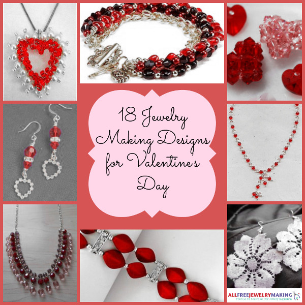 18 jewelry making designs for valentines day - Valentines Day Bracelet