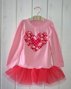 Valentine's Day Tutu Shirt