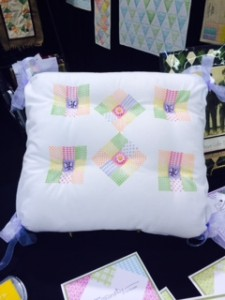 Ann Butler Stamped Pillow