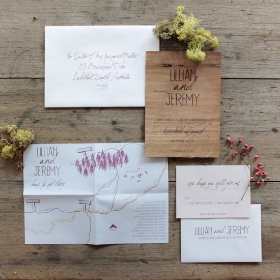 Handmade Wedding Invitataions