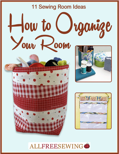 11 Sewing Room Ideas: How to Organize Your RoomSewing-Organizer-eBook
