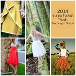 2014 Spring Fashion Trends: Tea Length Skirts