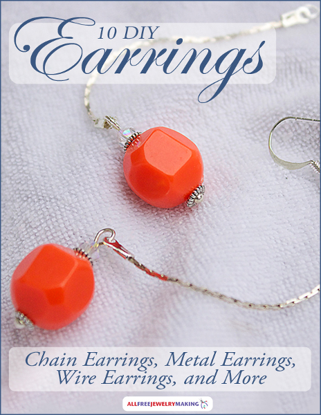 10 DIY Earrings: Chain Earrings, Metal Earrings, Wire Earrings, and More