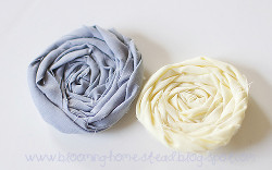 Fabric-Rosette-Hair-Accessories