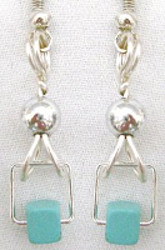 Contempo Turquoise Earrings