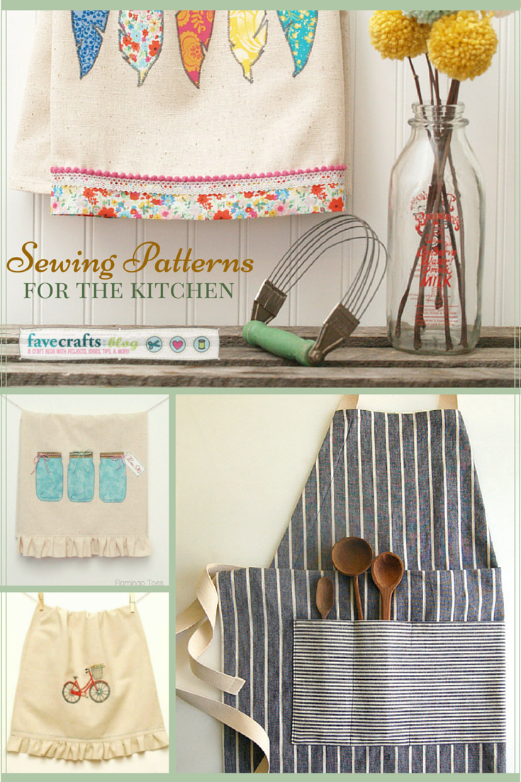 Sewing DIY Home Decor Crafts For Your Kitchen