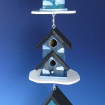 beautiful-blue-birdhouses