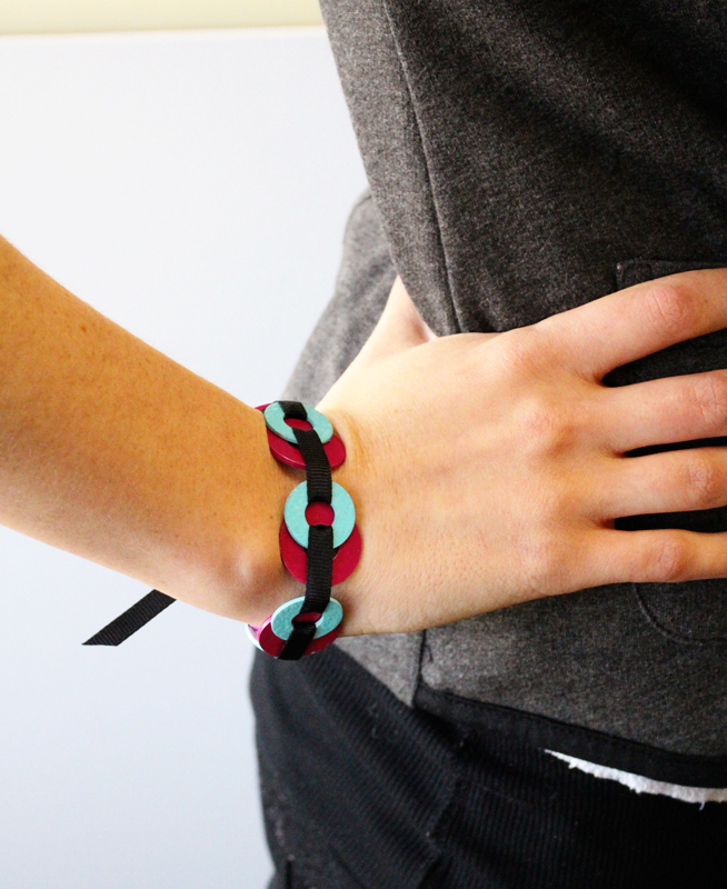 Industrial Neon Bracelet