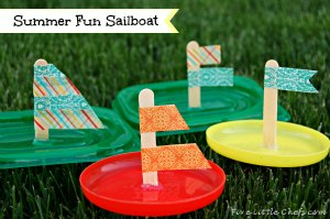Dollar Store Sailboat Race