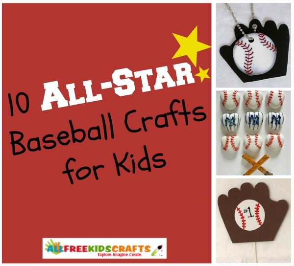 All Star Ideas 10 Baseball Crafts For Kids Favecrafts
