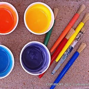 Paint the Town DIY Outdoor Idea