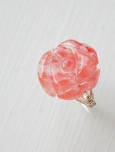 Radiant Rose Ring