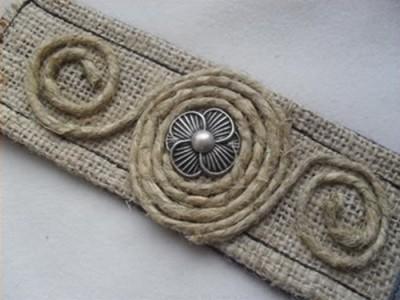 Bohemian Hemp Bracelet
