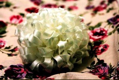 Silky Chrysanth Brooch