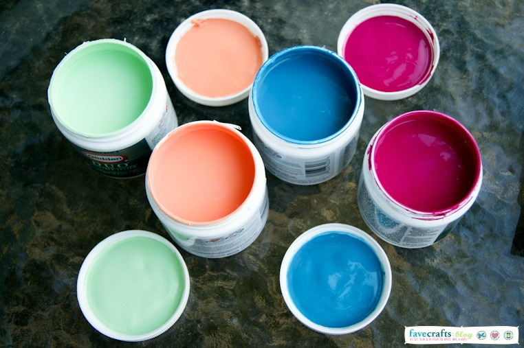 Aztec Planter Paint Colors
