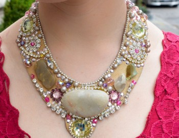 Ocean Stones Statement Necklace