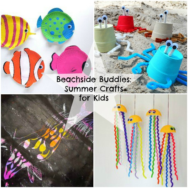 Beachside Buddies: Summer Crafts for Kids