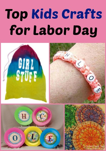 How to survive a three day weekend 15 kids craft ideas for Crafts for labor day