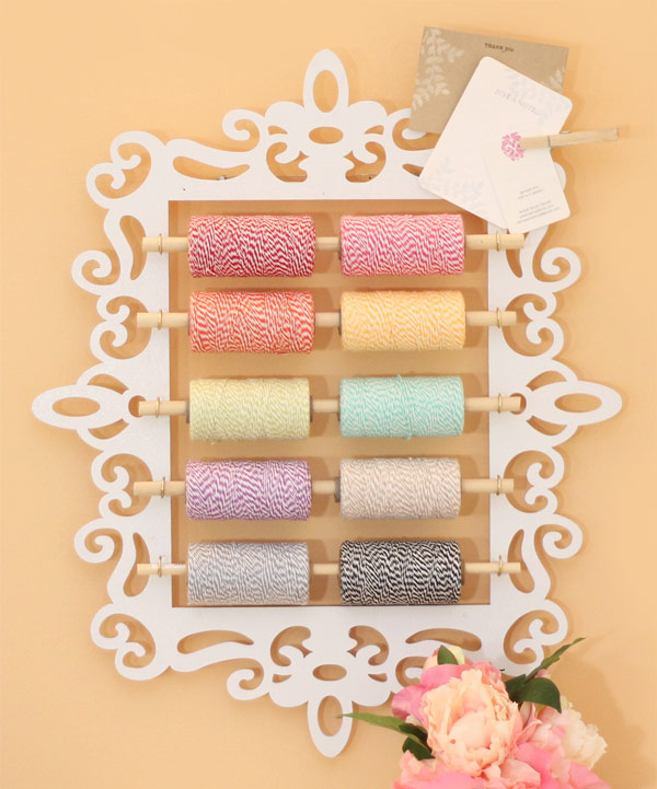 How to Organize Your Baker's Twine