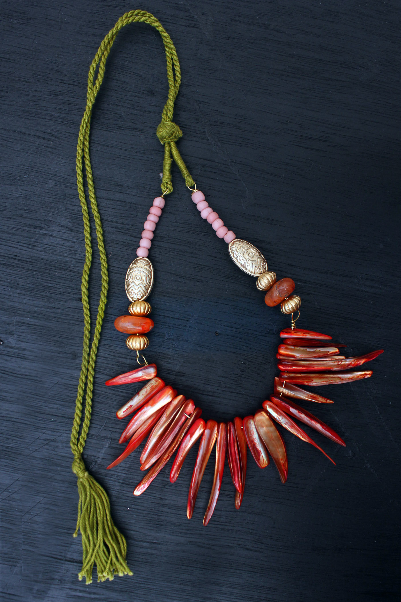 spicy tribal necklace