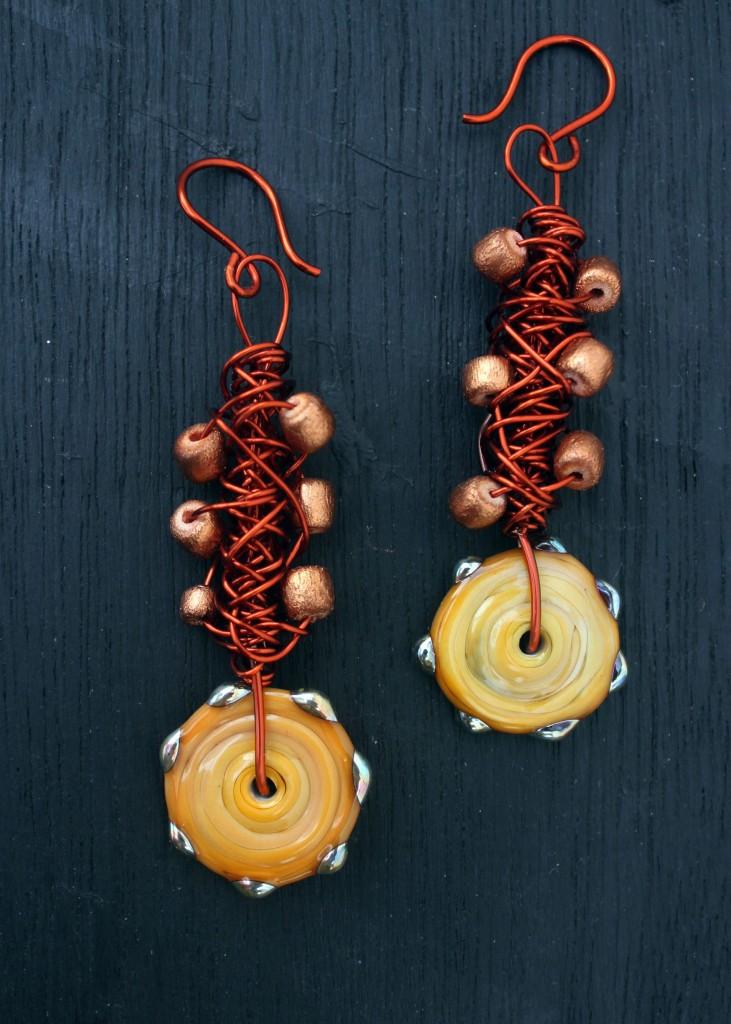 rustic wire earrings (1)